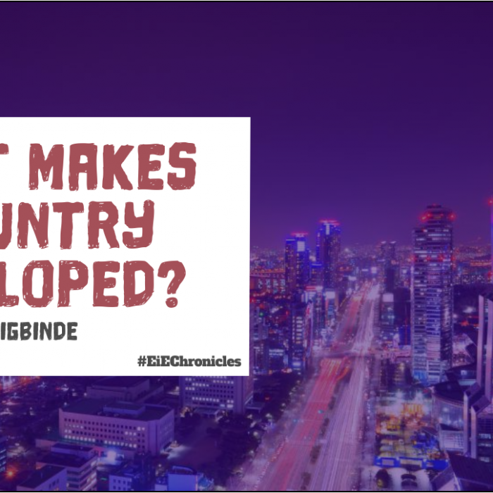 What Makes A Country Developed?