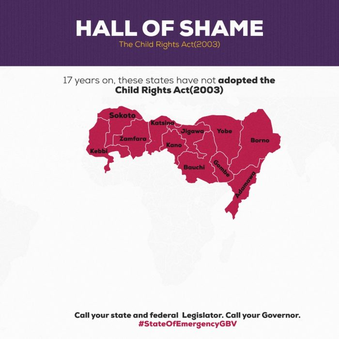 Hall of Shame – The Child Rights Act