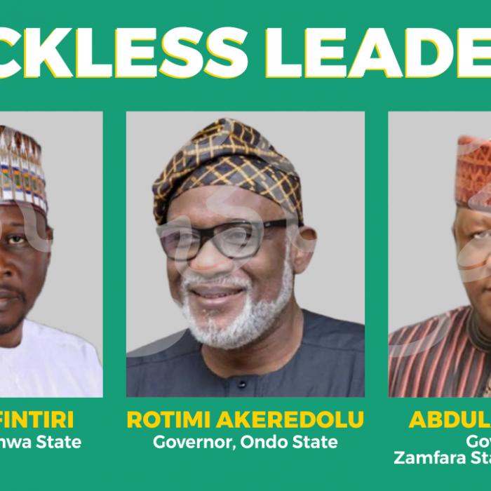 Reckless Leaders