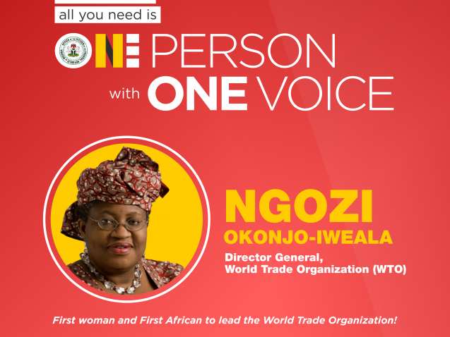 #OnePerson - WTO